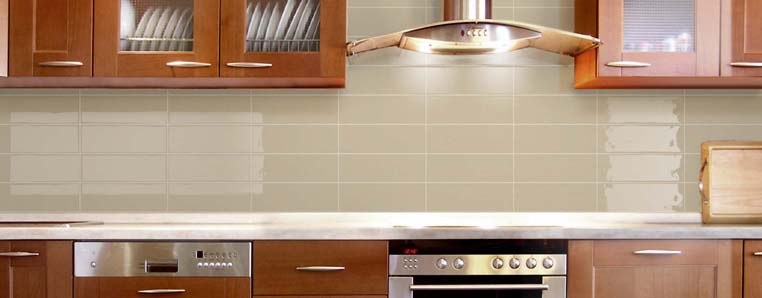 Beige Kitchen Splash Back 171 Concept Tiles
