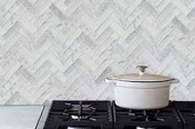 Signature Carrara Kitchen Splashback