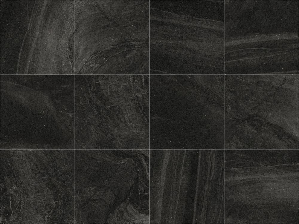 Stone System Charcoal 171 Concept Tiles