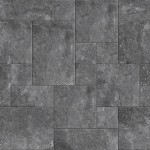French Pattern Limestone Harappa Black Product Image