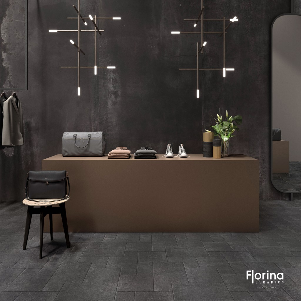 French Pattern Limestone Harappa Black 3