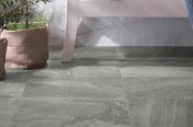 Stone System Mid Grey Outdoor Area