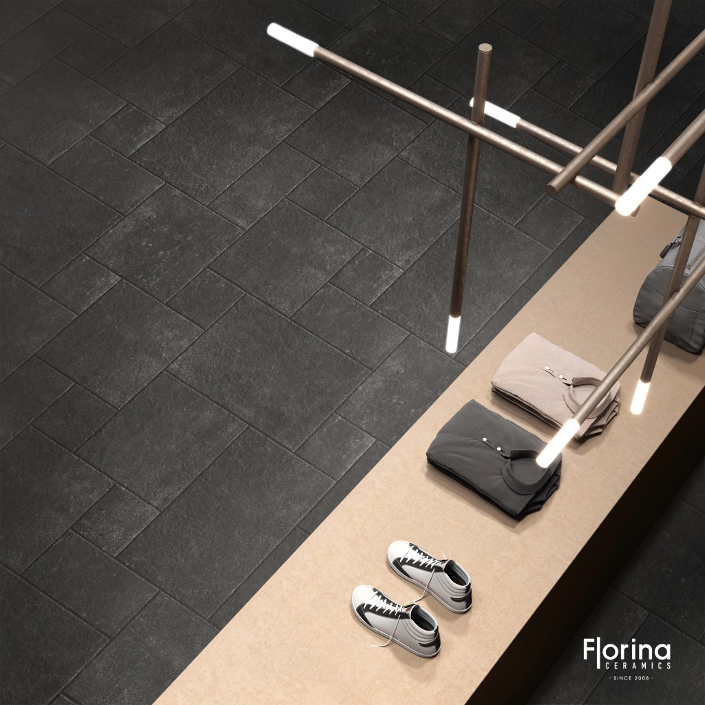 French Pattern Limestone Harappa Black 4